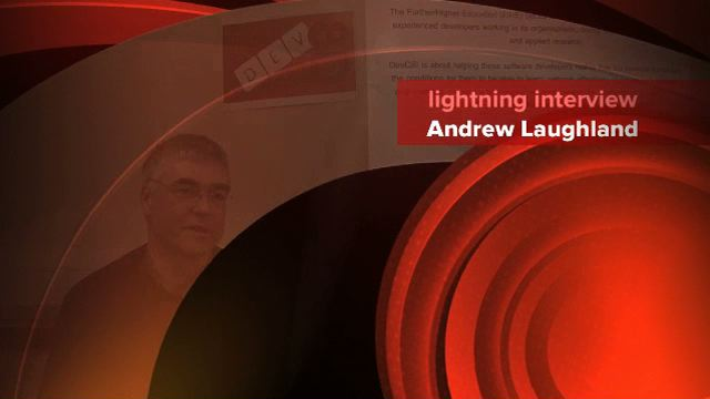 Link to lightning Interview with Andrew Laughland